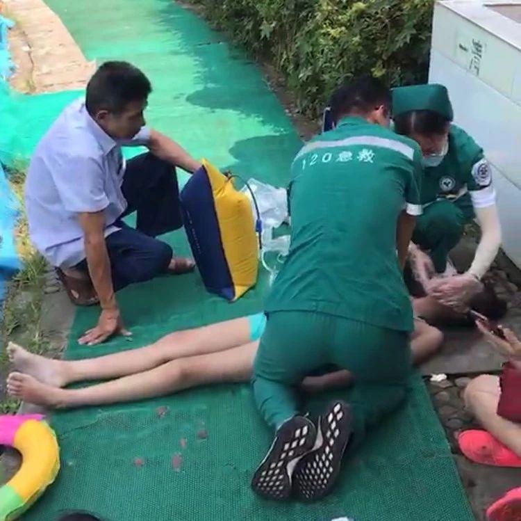 突发悲剧!富顺一女孩在游泳池溺水身亡!现场视频令人痛心...
