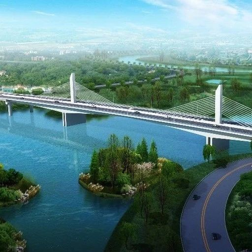 美轮美奂!泉河将新建的两座大桥!
