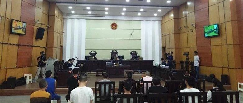安源法院一恶势力犯罪案宣判,12人获刑!