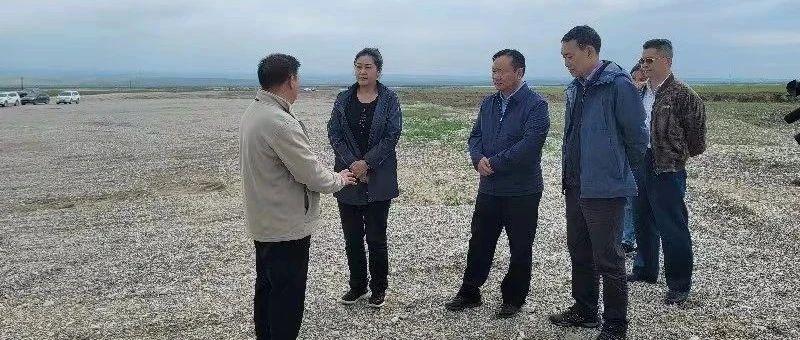 乔亚群在天峻县督导调研问题图斑整改和木里矿区生态环境综合整治工作