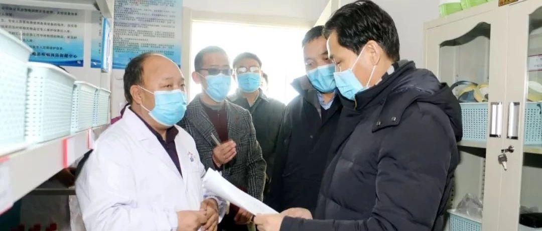 孟海督导检查天峻县新冠病毒疫情防控工作