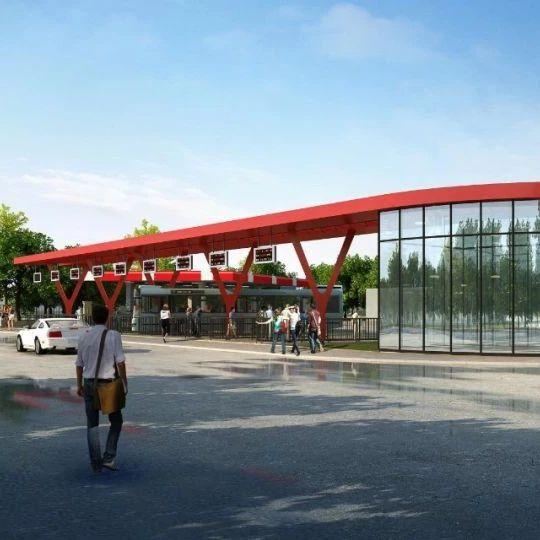 我市又有大项目,火车站公交首末站