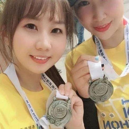 【漂亮】本次马拉松的奖牌很皮都!