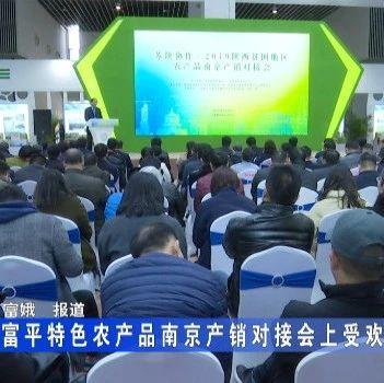 富平特色农产品南京产销对接会上受欢迎