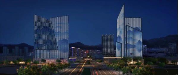 """涉及31幢高楼丽水经开区水阁核心区块夜景很是""""迷人"""""""