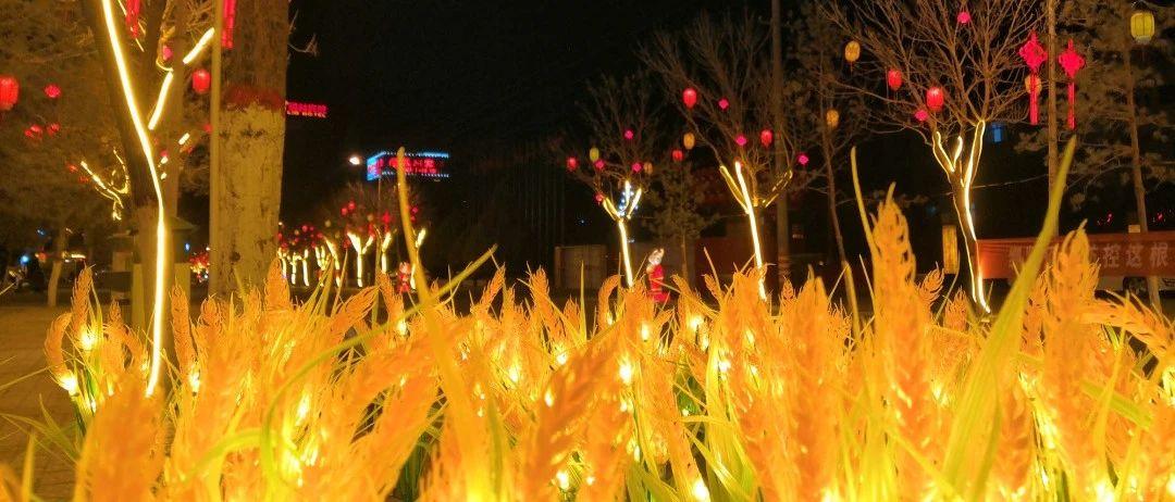 瓜州县:春节美化亮化工程正在进行时