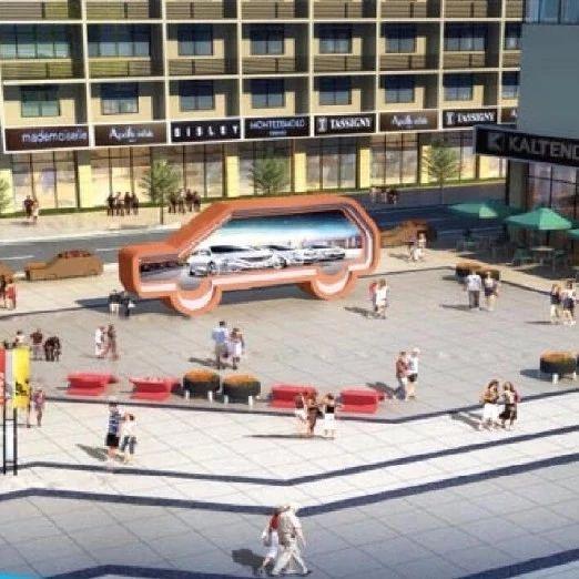 过几天巴城莲花街将打造成商业街,并开始施工