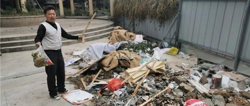 """无语!""""白鹤林小区垃圾成堆""""追踪:大堆被清理小堆又出现"""