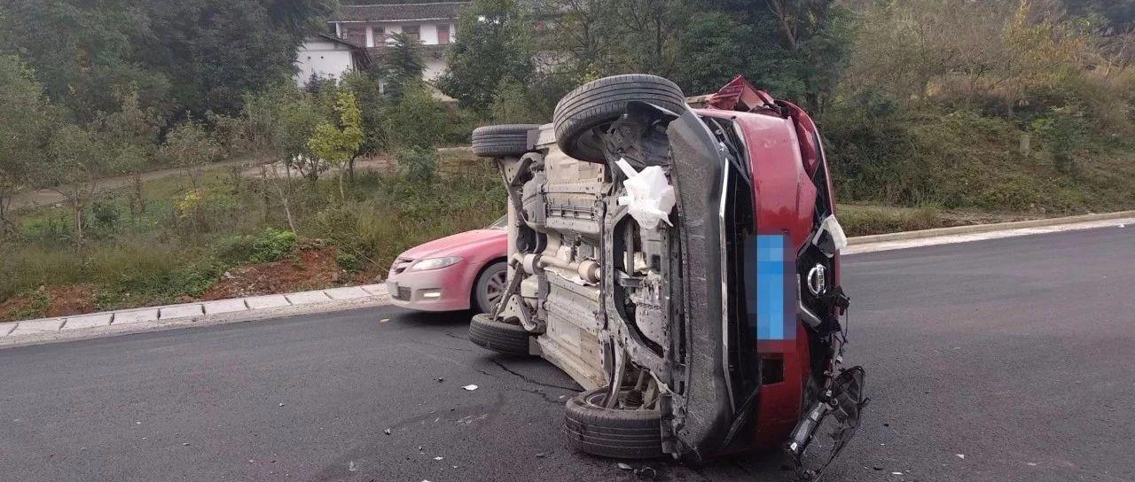 安州|一个早上,两起车祸,交通安全需要重视!