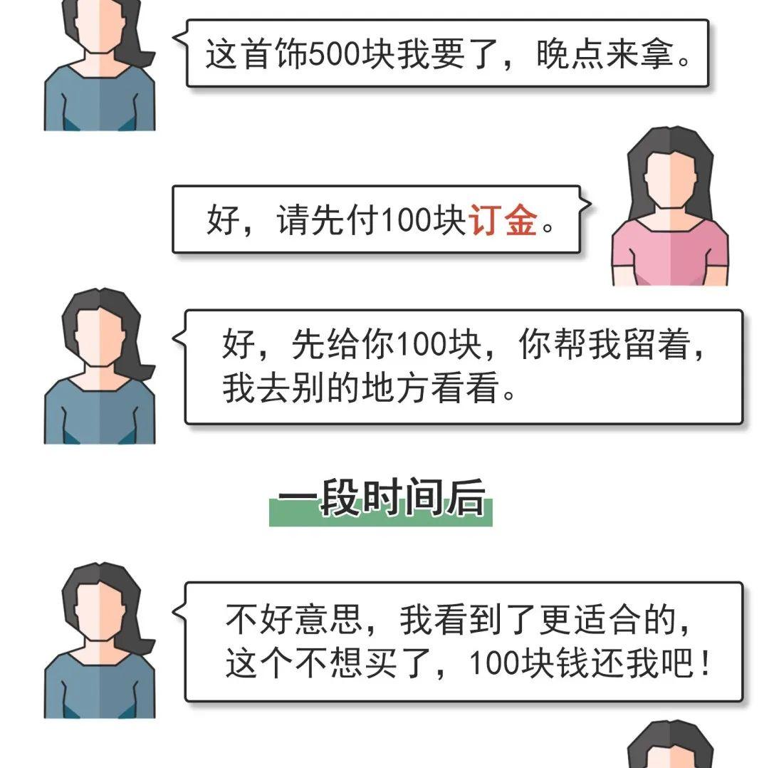 @新蔡人定金、订金、押金、保证金...你能分清楚吗?