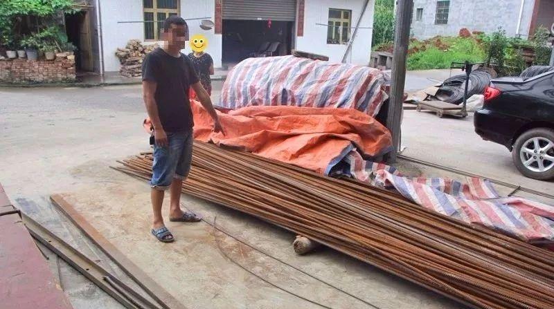 七吨钢材竟然在工地上被偷|宜宾这个男子有来头