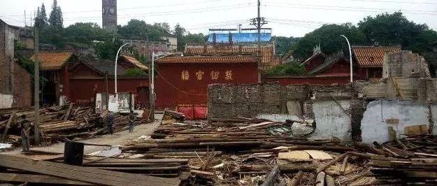 文庙正街封路至2020年1月初!富顺古城复兴建设工程?开始啦!