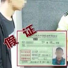 自贡一男子居然持假证驾车上路,跑的落?(附视频)