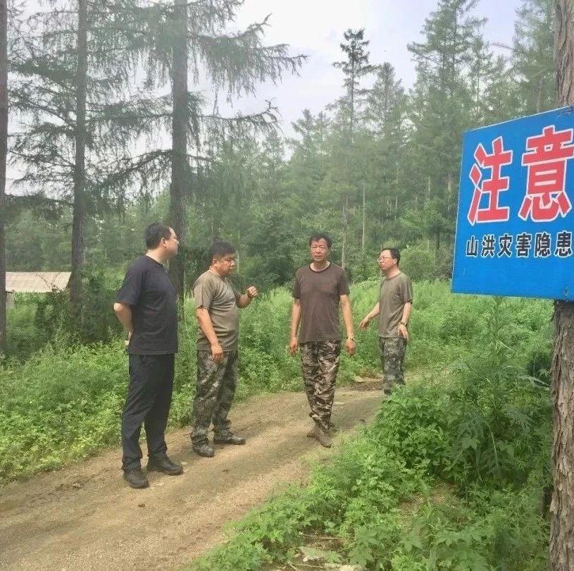 【政讯】铁力市委常委、组织部长孙大伟在朗乡镇检查指导防汛工作