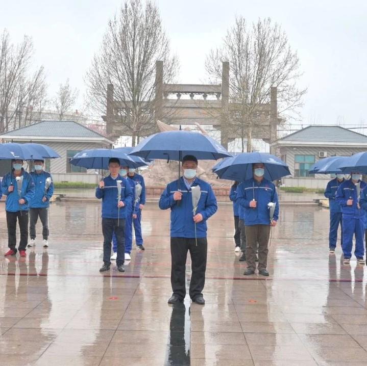 中国铁建港航局小清河项目部举行清明祭扫活动