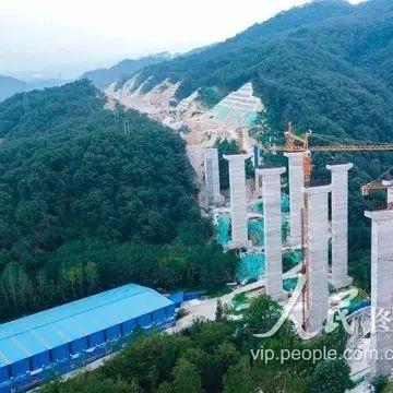 栾川至卢氏高速公路正全力修建,预计2022年底通车