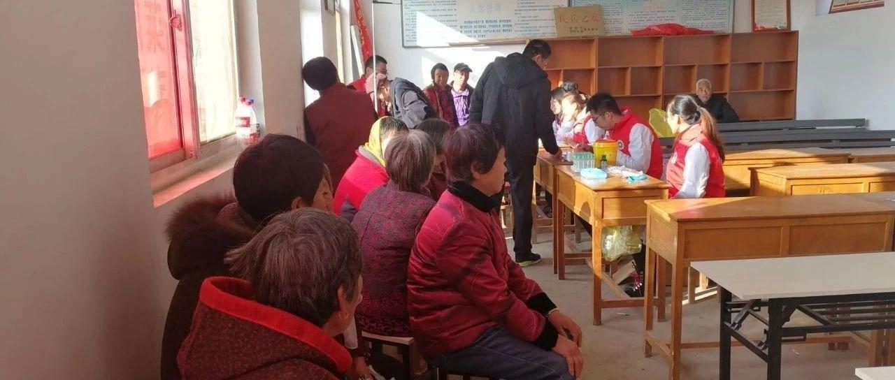 莱阳照旺庄卫生院积极开展慢病危险因素调查