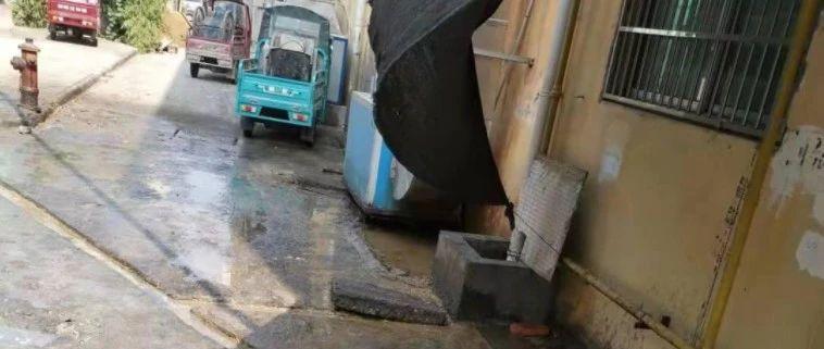 已回复!望江县三号路沿街商铺饭店污水管道堵塞