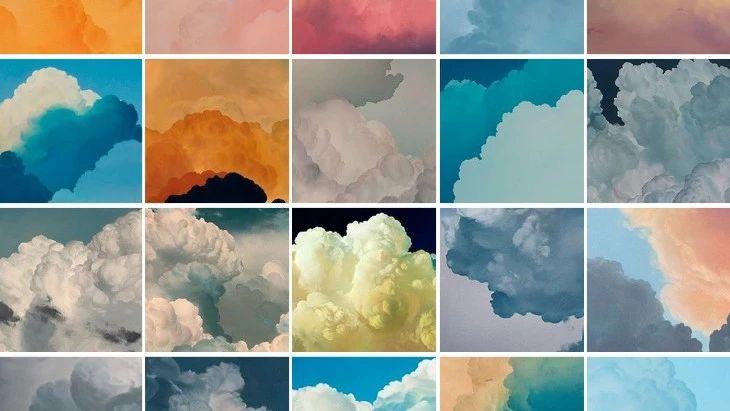一朵云画10年,34岁宅男把云画活了,每一幅色彩都无比惊艳