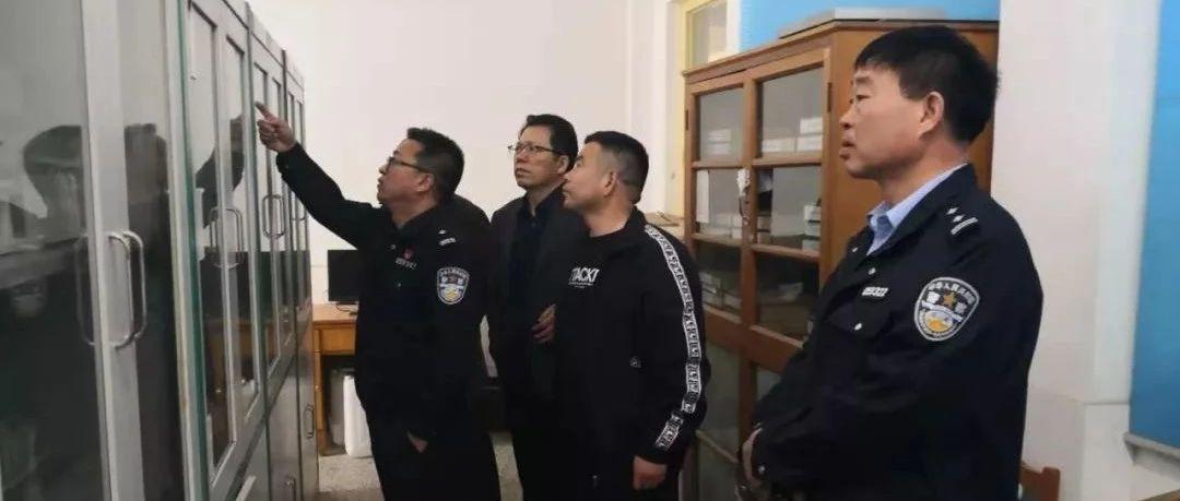嘉祥公安:开展校园易制爆危险化学品安全检查