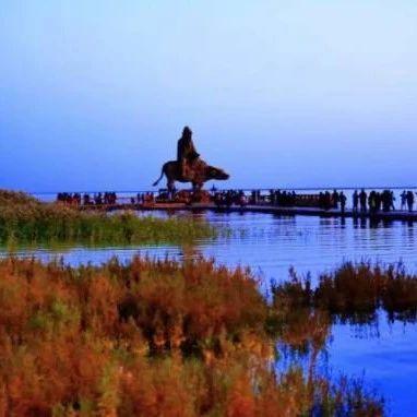 大漠天池居延海:听过它的美丽传说,来一次仙境奇遇吧!