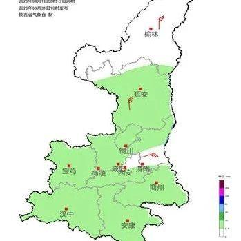 今起陕西又迎新一轮降温+吹风+降水,西安最高气温下降6℃!