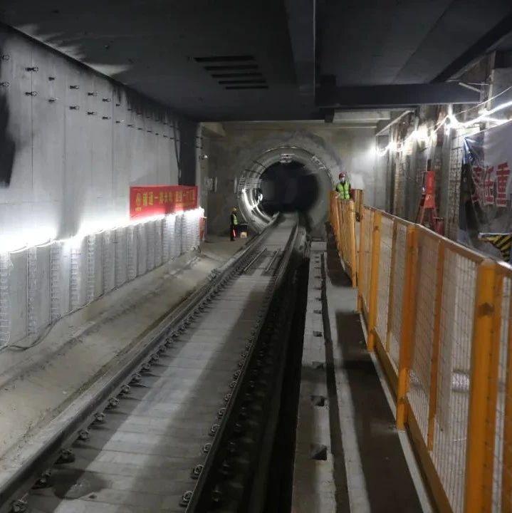 """预计年底开通试运营!西安地铁5号线一期工程全线""""轨通"""""""