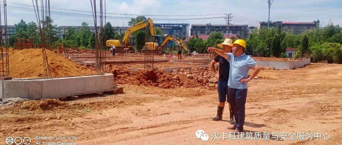县建筑工程质量与安全服务中心建筑工地扬尘治理纪实