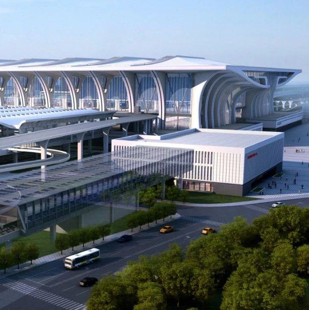 """抢""""鲜""""看郑州南站四个中心工程进展来袭"""