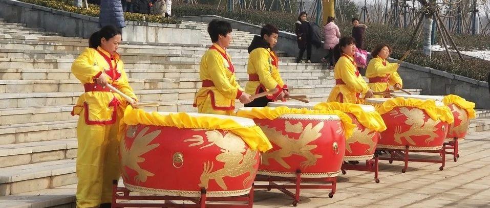 【视频独家】国家级非物质文化遗产节目表演在汝州一高奏响!最小鼓手16岁!