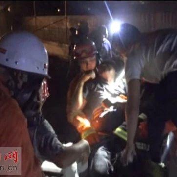 太惊险!洛阳一工人掉进约10米深井,工友为救他差点儿……