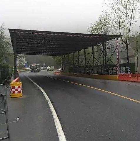 萍莲高速设立首条绿色安全通道