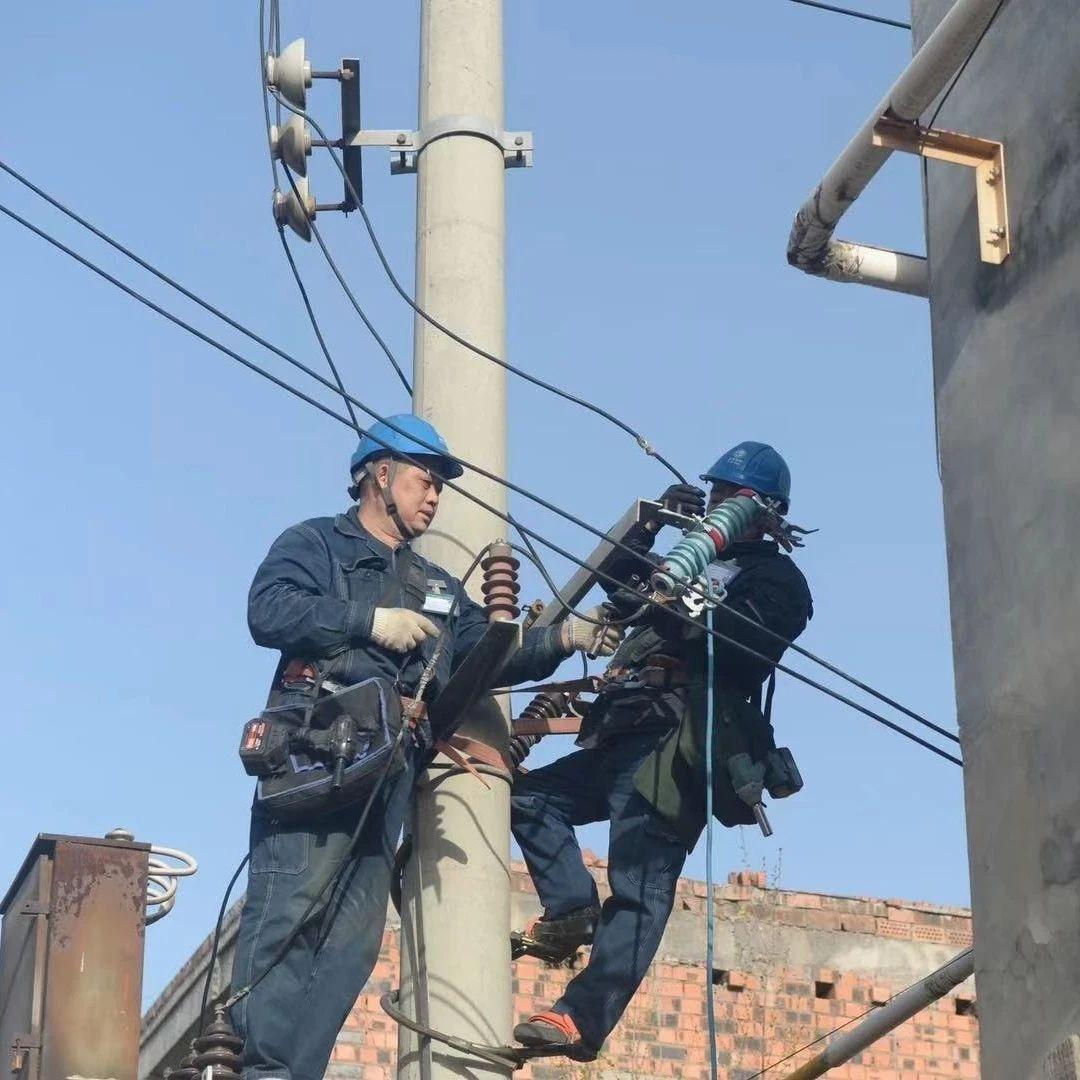 【汝州新闻】春检现场党员带头保供电