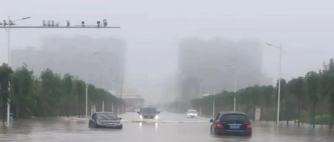 长葛老乡出行注意!多路段积水(附视频)