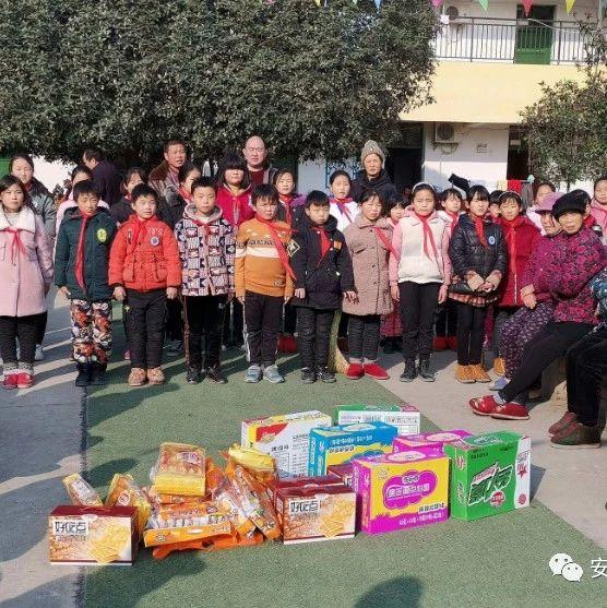 【学校动态】姜寨镇邓庄小学开展爱老敬老慰问活动