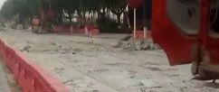曲��h�P嘉商�鲋脸墙�界段修路!���@行!