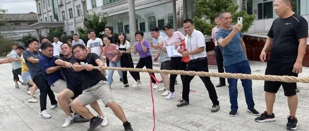 """七都乡举办""""忆党史铭党恩庆国庆""""系列文体活动"""