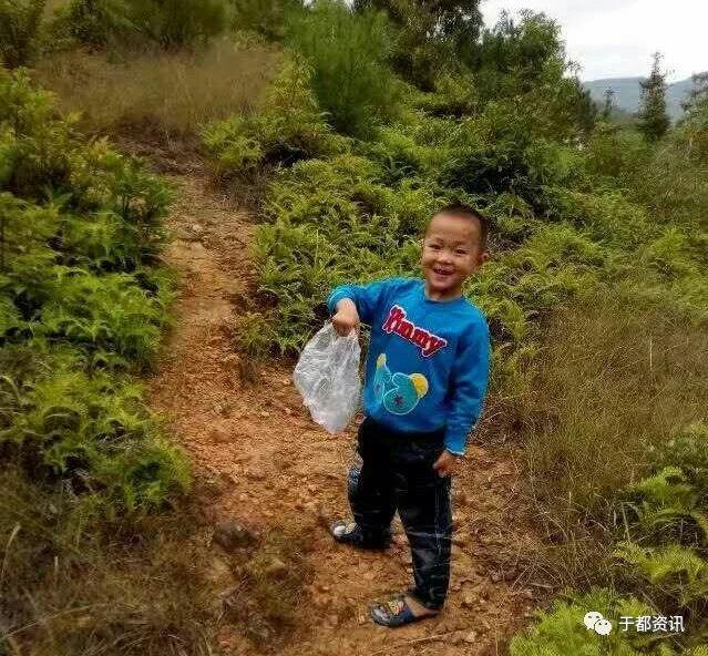 金沙平台禾丰陂角村这个小男孩找到啦!