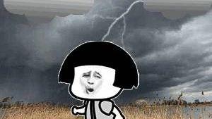 """第16号台风""""贝碧嘉""""即将驾到,各位童鞋注意出门带雨伞"""