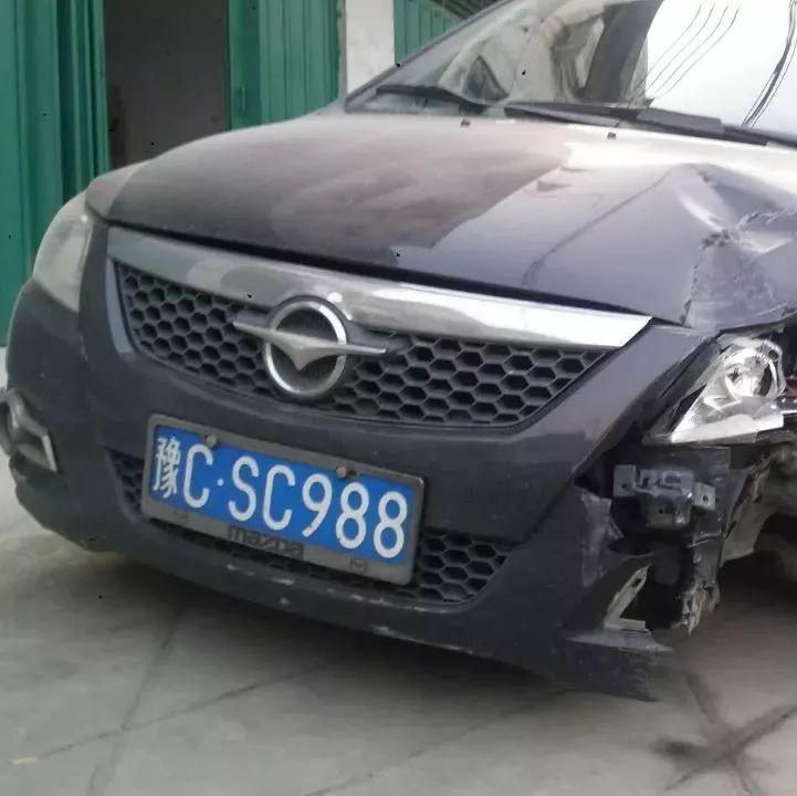 开车撞了隔离栏,因为司机这个决定被扣12分罚1000元