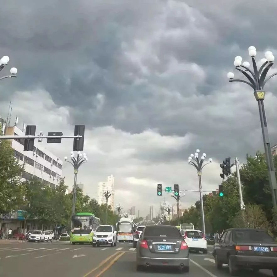 乌云密布、倾盆暴雨…然而接下来还是热热热!