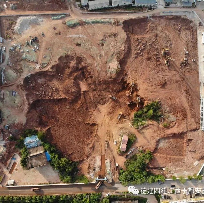 热点|金沙游戏4号、5号安置房项目土方开挖施工!!