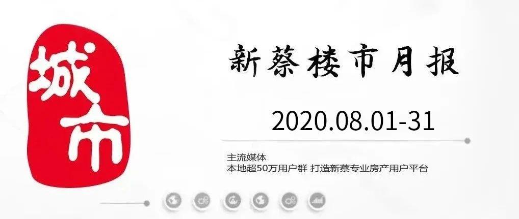 重磅发布!2020年08月份新蔡县楼市月报