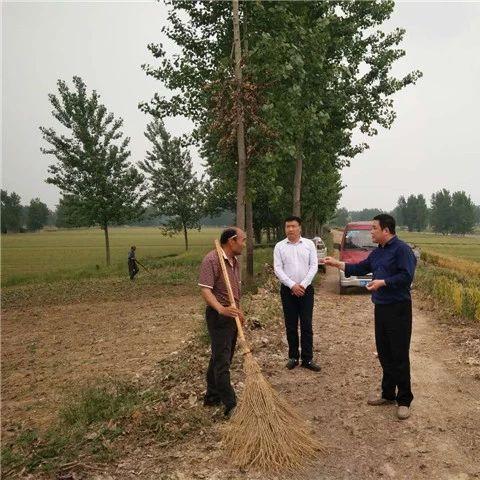范集镇汾泉河国家湿地公园验收迎检工作如火如荼
