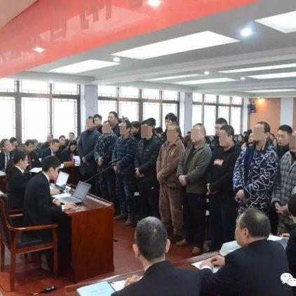 """河南法院集中开庭、宣判""""黑恶""""犯罪案件!涉及漯河一起…"""