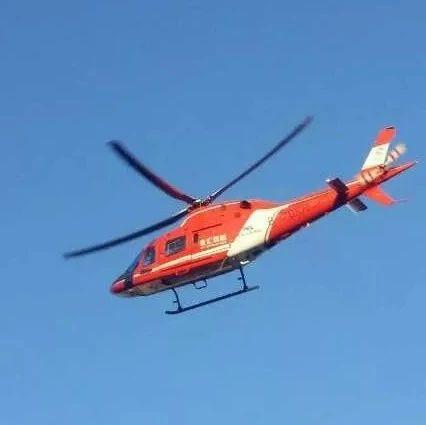 漯河市中心这架直升机,要弄啥?