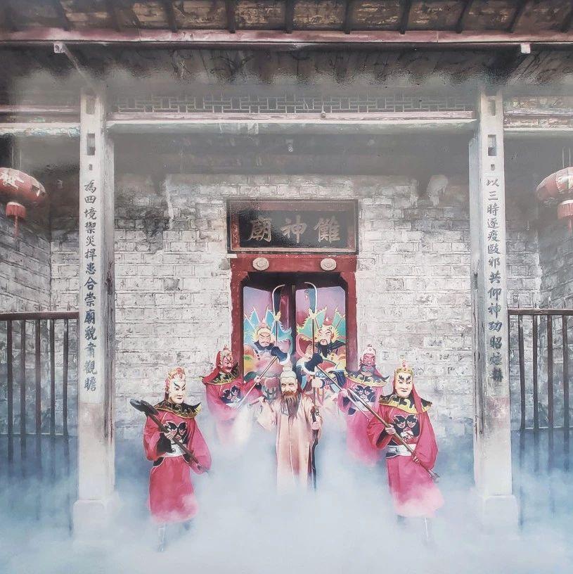 萍乡傩舞文化:摘?#26053;?#20855;是人,戴上面具是神!