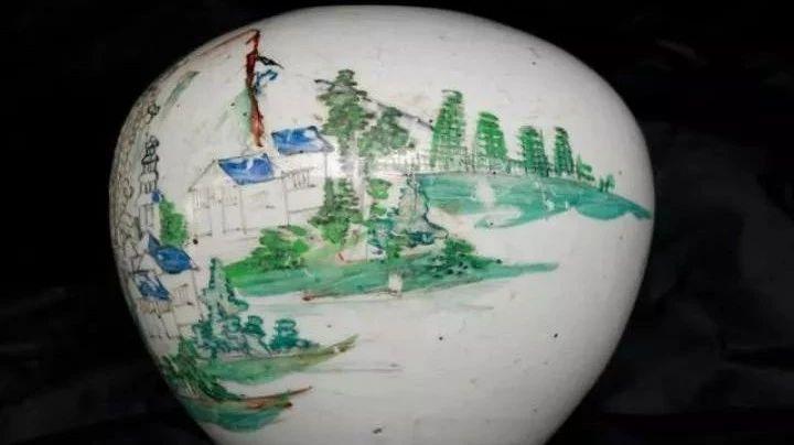 见证历史!萍乡史上最著名的鳌洲书院写生瓷器被发现!