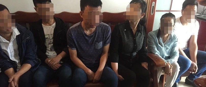 66人被抓!今天上午,南昌200多名执法人员出动,现场视频曝光