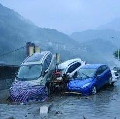 汶川暴雨灾情